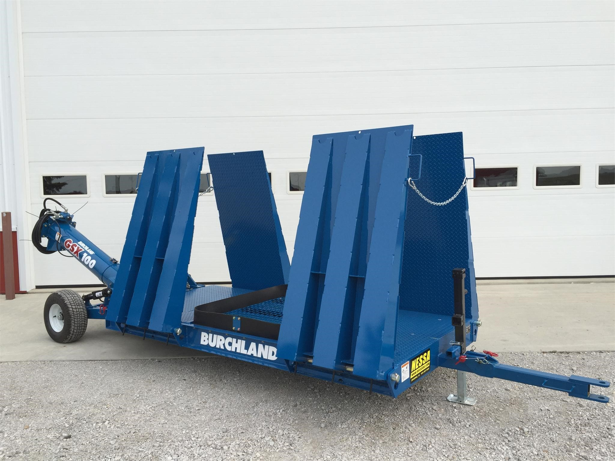 2019 Burchland GSX100 Augers and Conveyor