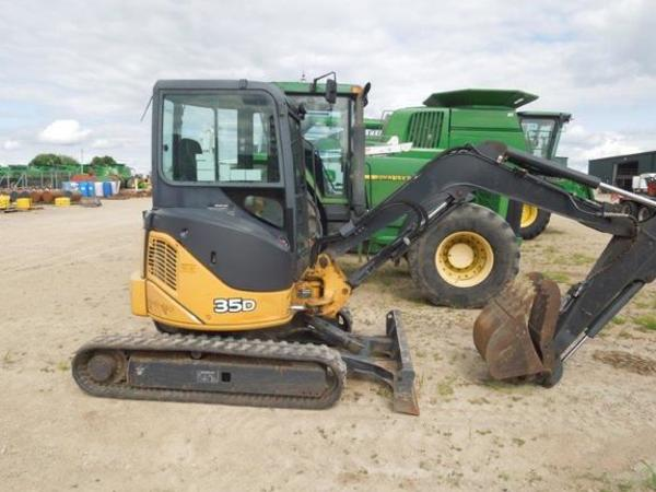 Used Deere 35D Backhoes for Sale   Machinery Pete