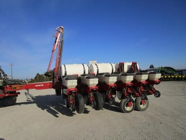 White 6100 Planter Holgate Ohio Machinery Pete
