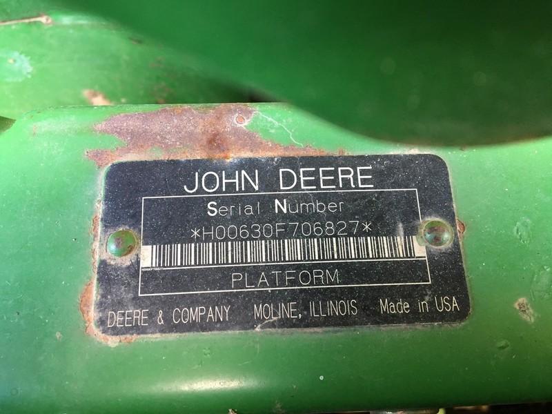 2004 John Deere 630F Platform
