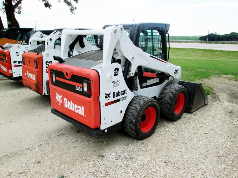 2014 Bobcat S590 Skid Steer