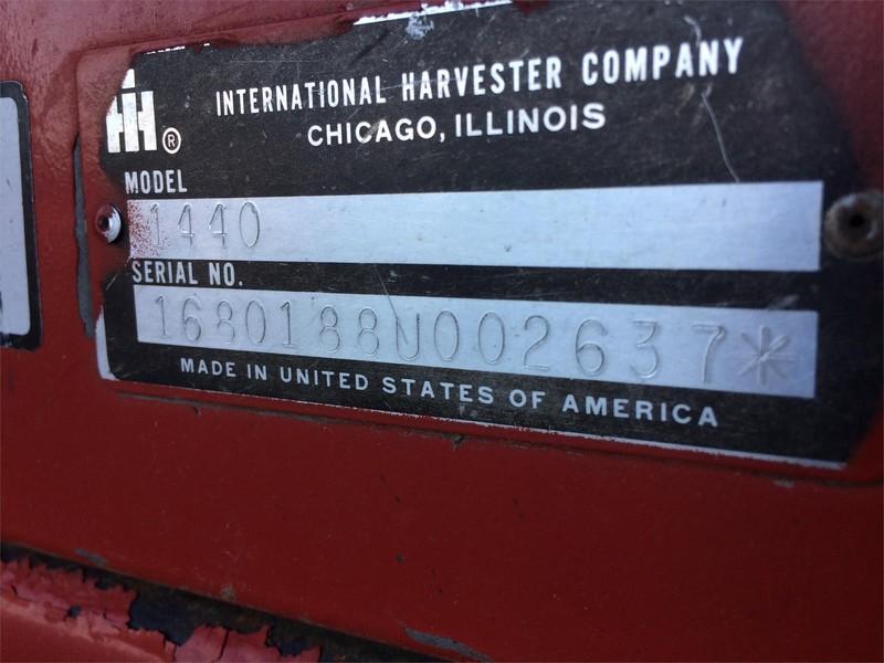 1980 Case IH 1440 Combine