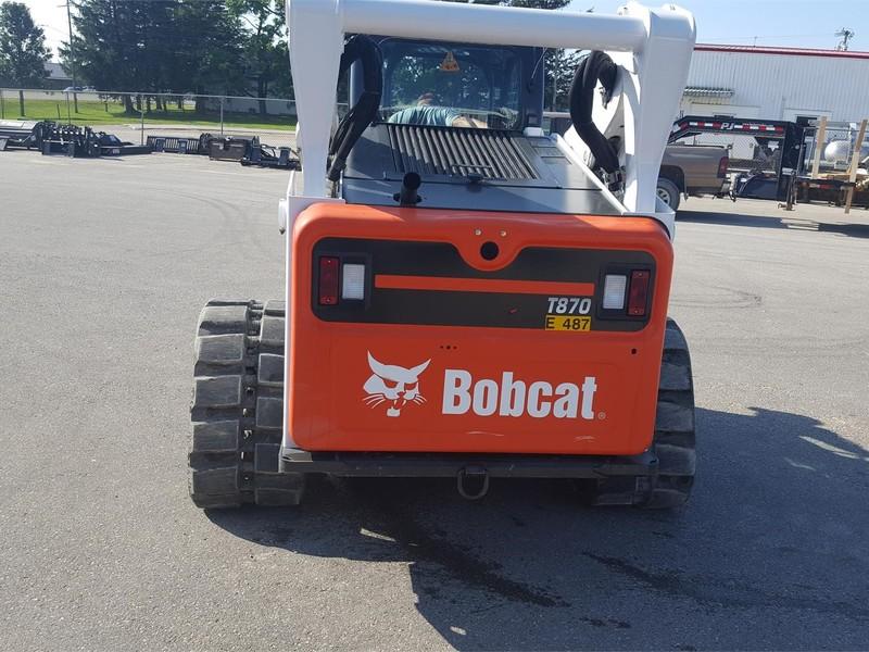 2015 Bobcat T870 Skid Steer