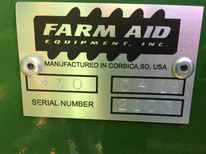 2018 Farm Aid 430 Feed Wagon
