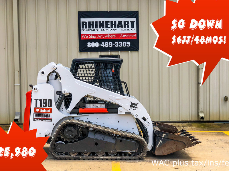 2009 Bobcat T190 Skid Steer