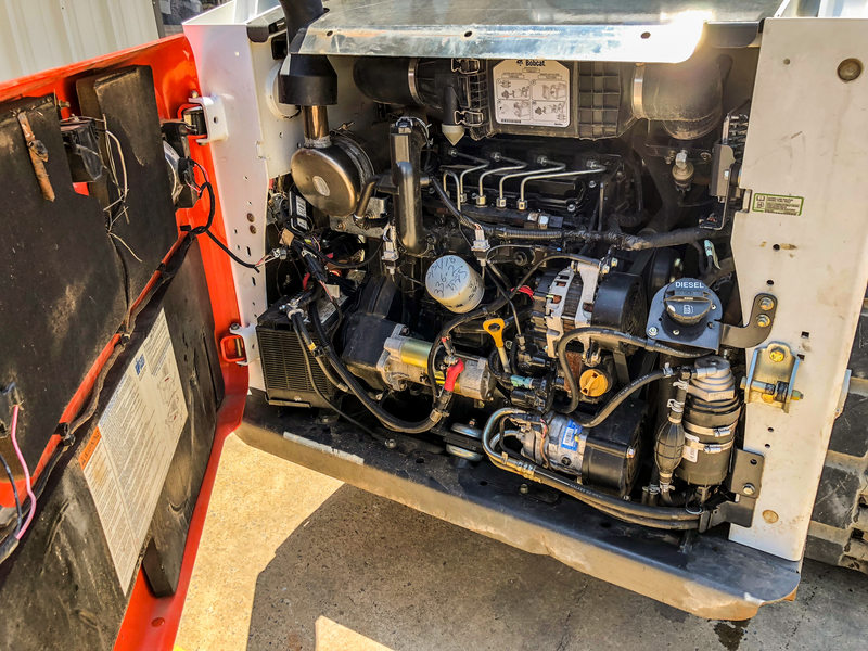 2017 Bobcat T650 Skid Steer
