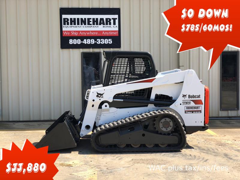 2013 Bobcat T630 Skid Steer