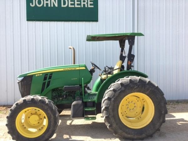 2013 John Deere 5115M Tractor