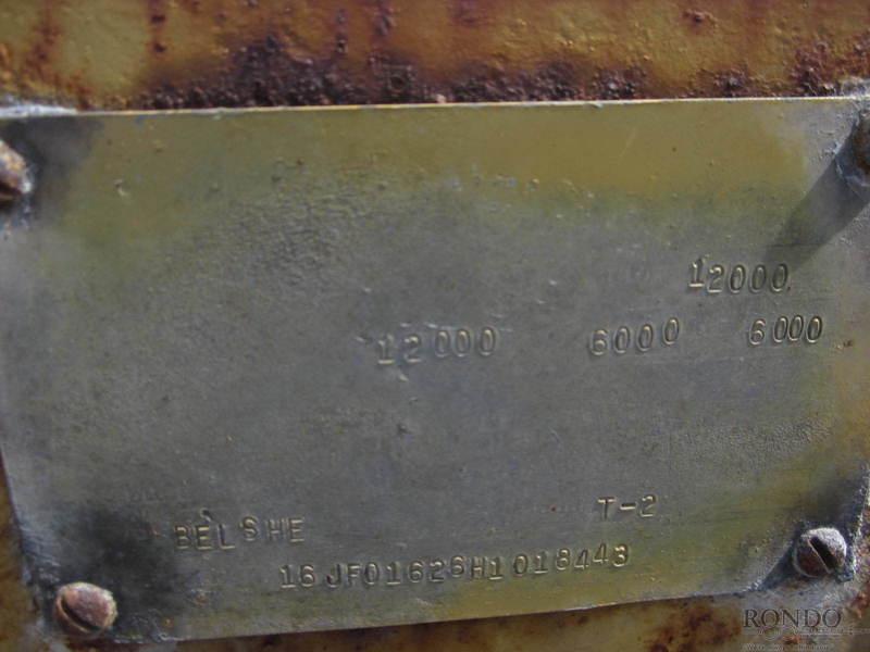 1987 Belshe Equipment Flatbed Trailer