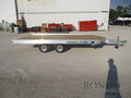 2018 Aluma Snowmobile 8614 Flatbed Trailer