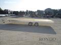 2018 Aluma Snowmobile 8620 Flatbed Trailer