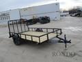 2018 LOAD TRAIL Single Axle Utility SE7712031 Flatbed Trailer
