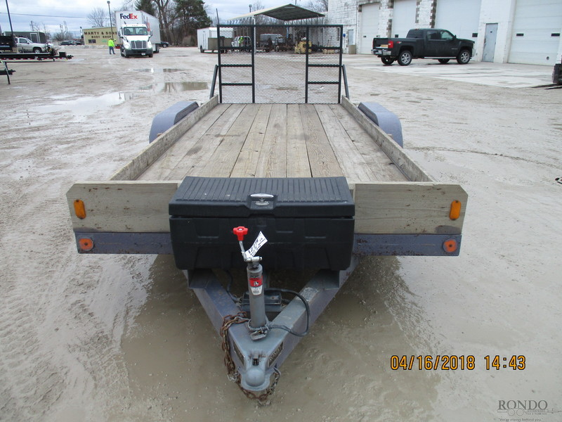 1994 Maxwell Equipment Flatbed Trailer