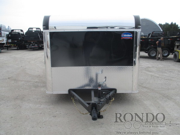 2019 United Enclosed Motorcycle XLMTG-712TA35-8.5-T Box Trailer