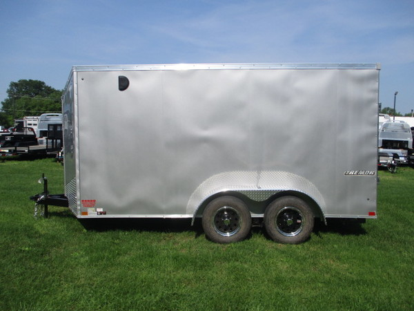 2019 Impact Enclosed Cargo ITT714TA Box Trailer