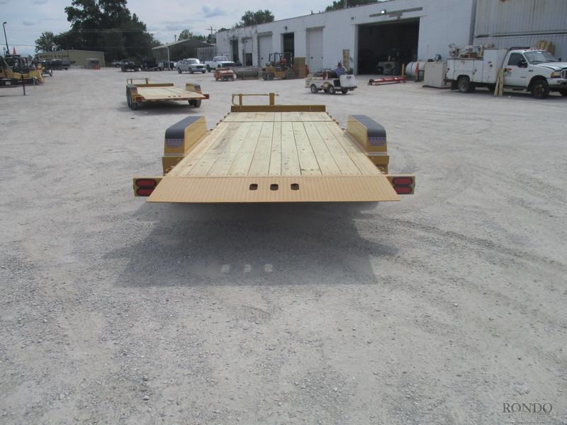 2019 B-B Equipment Tilt TBCT2216ET Flatbed Trailer