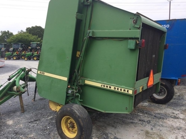 John Deere 530 Round Balers for Sale | Machinery Pete