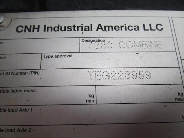 2014 Case IH 7230 Combine