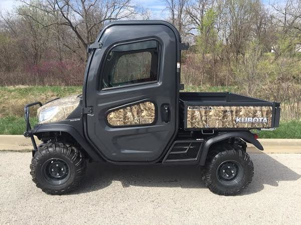 2018 Kubota RTVX1100 ATVs and Utility Vehicle