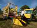 2010 New Holland H9880 Bale Wagons and Trailer