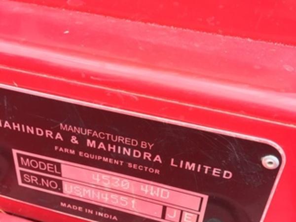 2014 Mahindra 4530 Miscellaneous