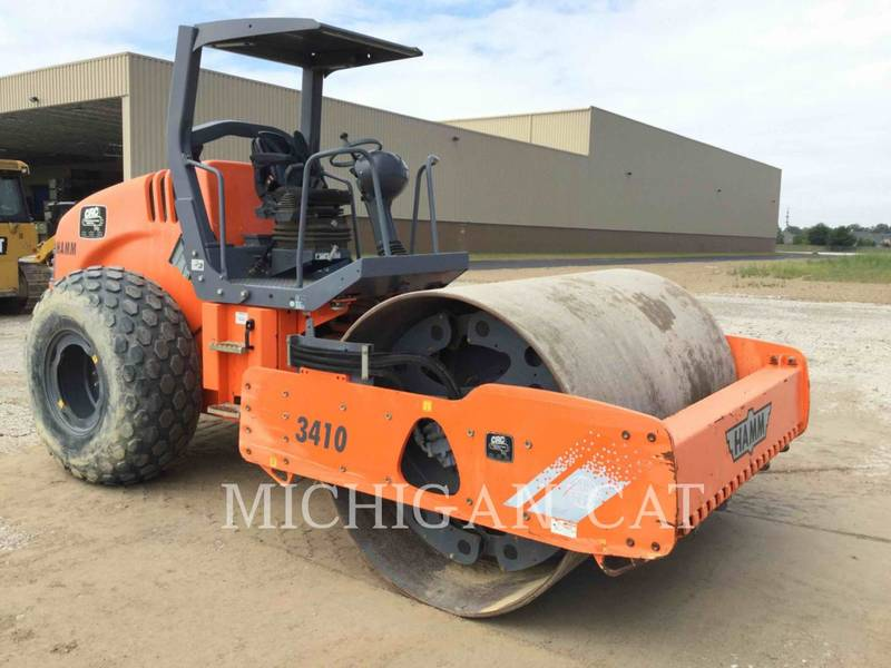 2011 Hamm 3410 Compacting and Paving