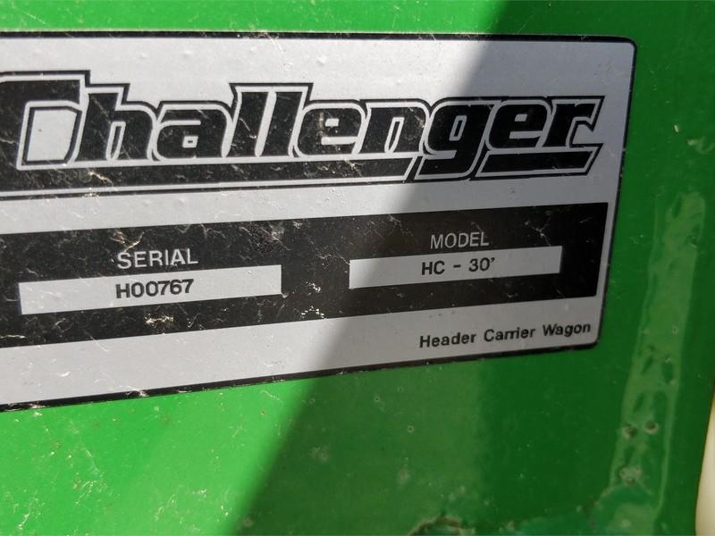 Challenger HC30 Header Trailer