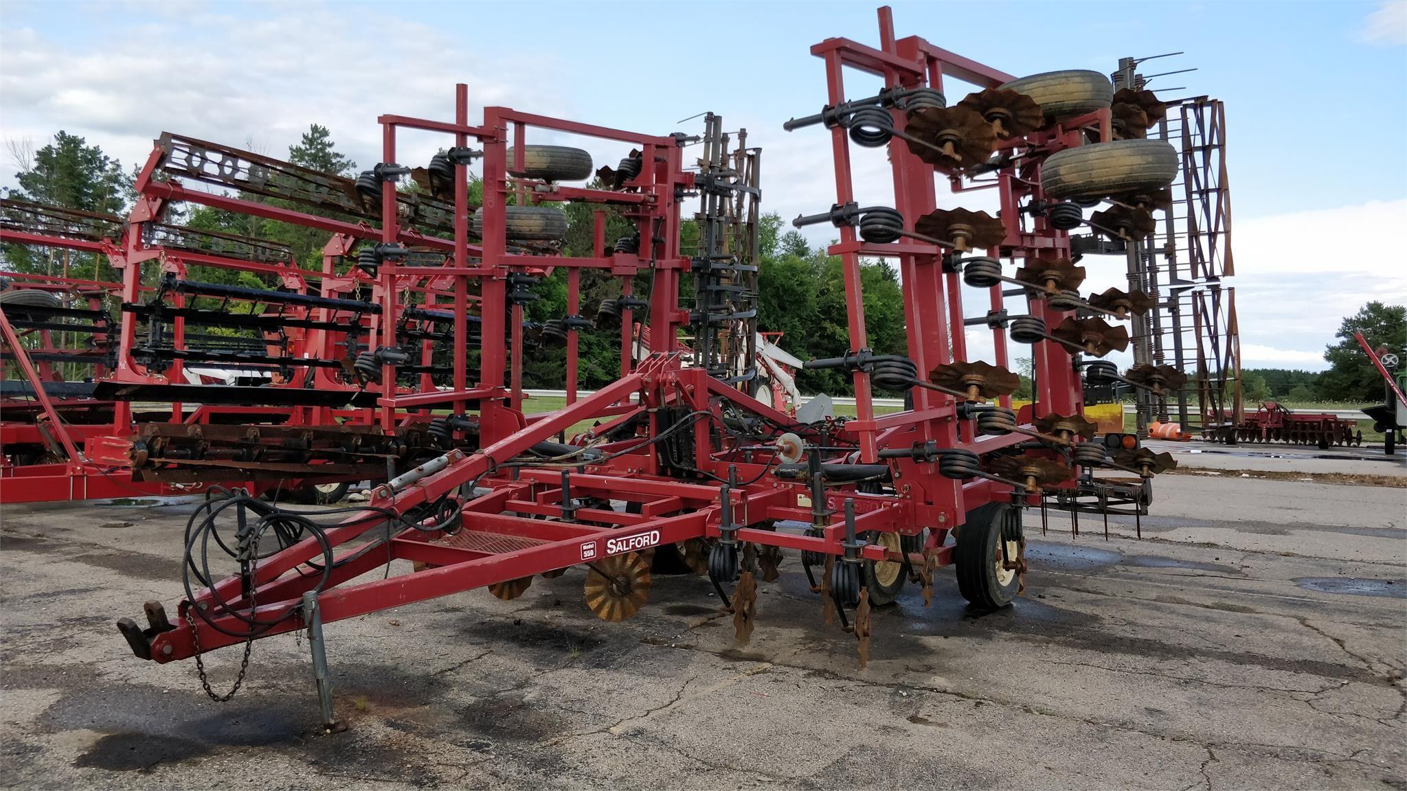 Salford 550 Field Cultivator