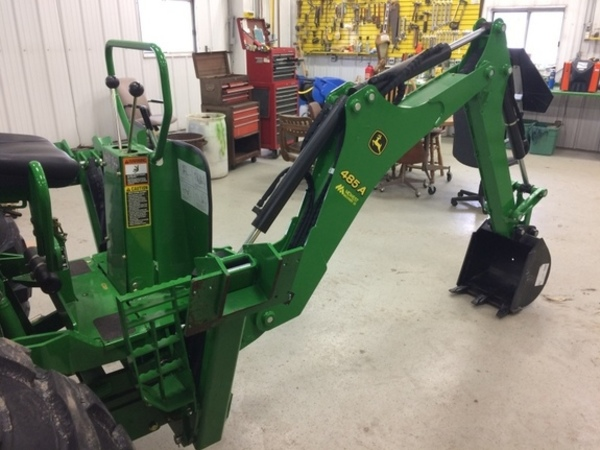 John Deere Backhoe Attachment >> 2015 John Deere 485a Backhoe And Excavator Attachment Stewart