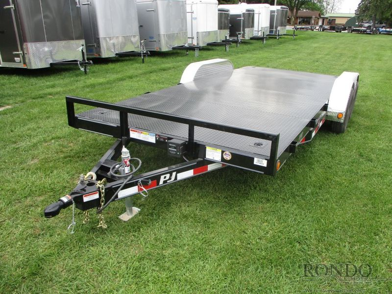 2018 PJ C5 Car Hauler C5A1832ESNKS Flatbed Trailer