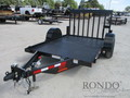 2017 Eagle 7X10LSA70-7000 Flatbed Trailer