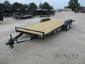 2017 Liberty Equipment LC10K20C5 Flatbed Trailer