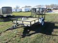2018 PJ U7 Single Axle Utility U721031DSGK Flatbed Trailer
