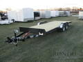 2018 Rice Car Hauler RT8220 Flatbed Trailer