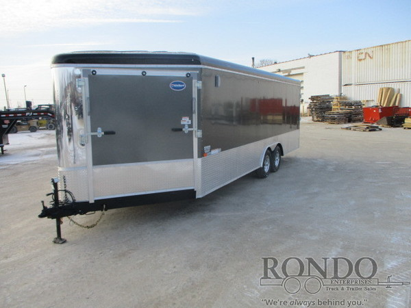 2018 United Enclosed Car Hauler UC-8.527TA50-S Box Trailer