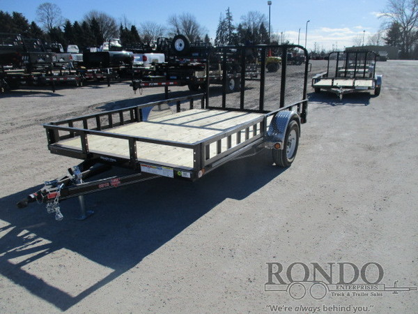 2018 PJ U8 Single Axle Utility U821231DSBKA Flatbed Trailer