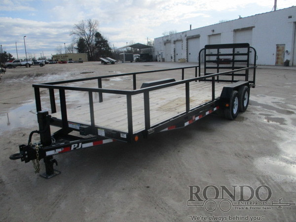 2017 PJ CE Equipment CEP2252ESJ038KQ-FE05-GT10-SR22 Flatbed Trailer