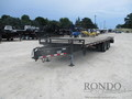 2005 Load Max Equipment Deckover P2519DR10E Flatbed Trailer