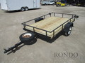 1995 Chilton Single Axle Utility Flatbed Trailer