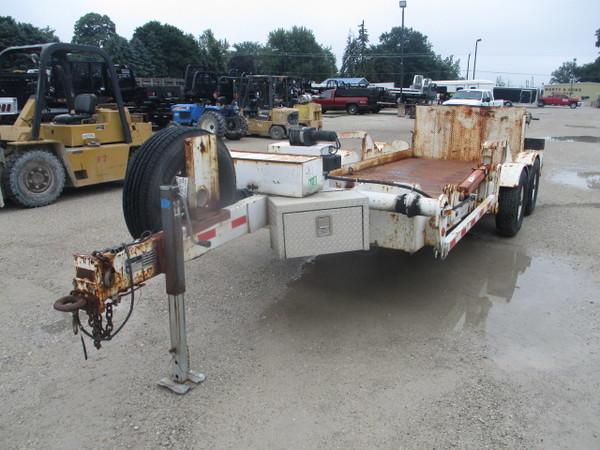 2007 Lifetime Equipment EPT4-516L Flatbed Trailer