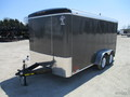 2018 Atlas Enclosed Cargo AU714TA2-R Box Trailer