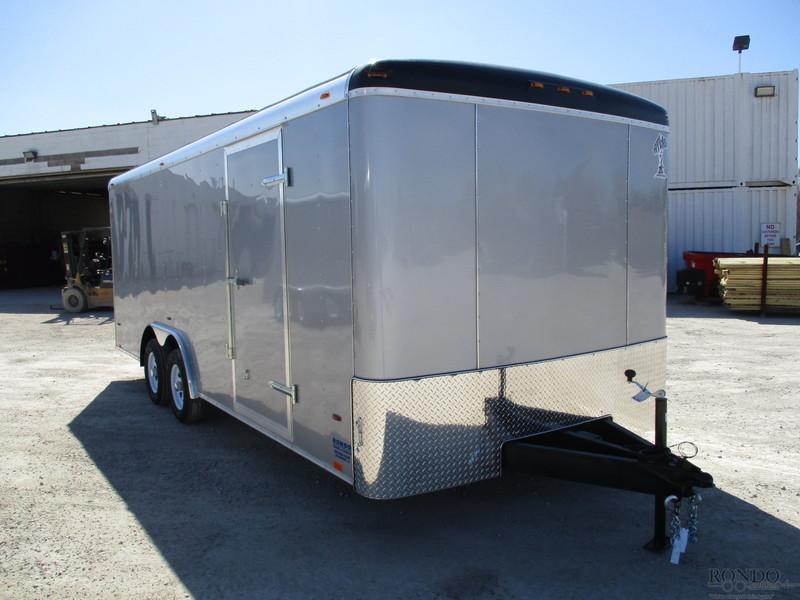2018 Atlas Enclosed Cargo AU820TA2-R Box Trailer