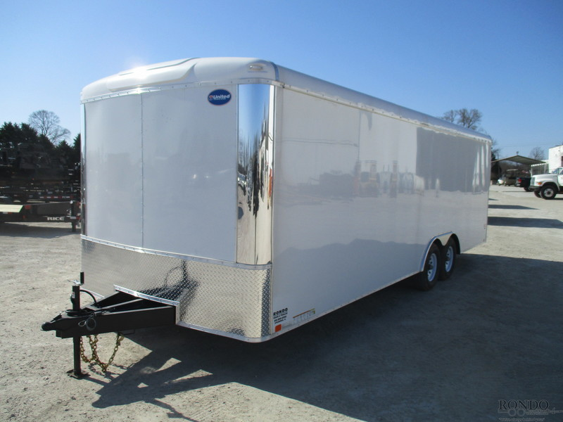 2019 United Enclosed Car Hauler ULT-8.524TA50-S Box Trailer