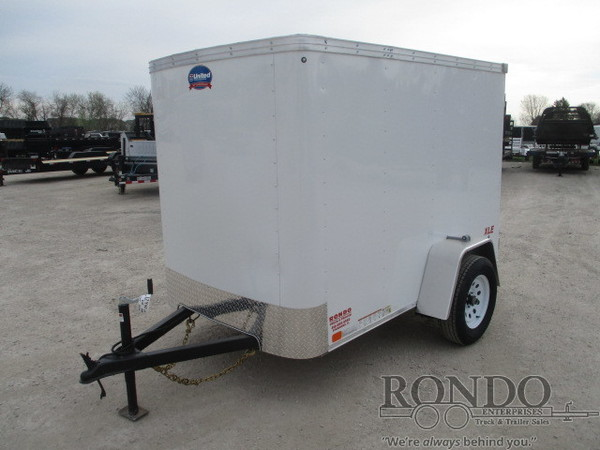 2019 United Enclosed Cargo XLE-58SA30-S Box Trailer