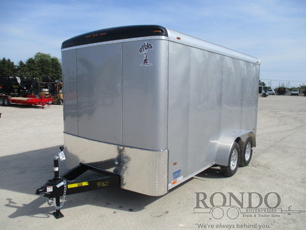 2018 Atlas AU714TA2-R Box Trailer