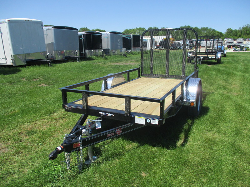 2019 PJ U6 Single Axle Utility U621031DSGK Flatbed Trailer