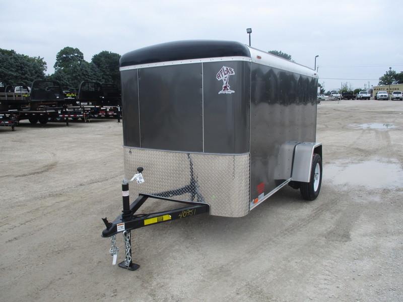 2018 Atlas Enclosed Cargo AU510SA-R Box Trailer