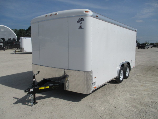 2019 Atlas Enclosed Cargo AU816TA2 Box Trailer