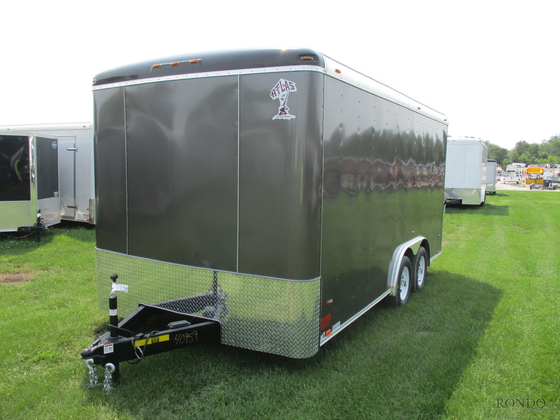 2019 Atlas Enclosed Cargo AU816TA2-R Box Trailer