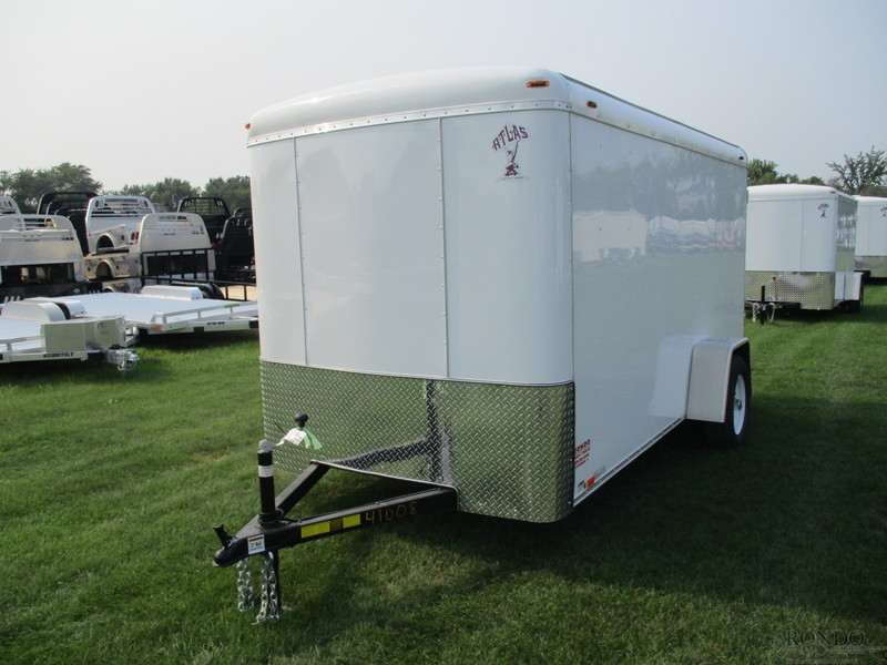 2019 Atlas Enclosed Cargo AU612SA-R Box Trailer